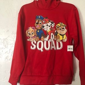 Nickelodeon, kids, size medium red hoodie